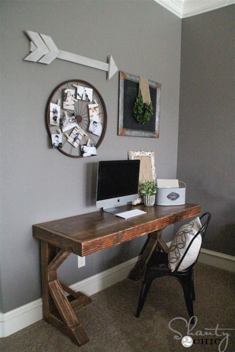 diy small desk ideas diy desk for 70 shanty 2 chic