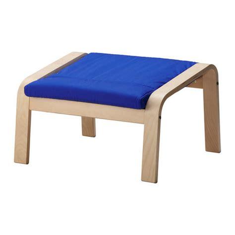 ikea poang ottoman ikea poang po 196 ng footstool cushion granan blue ottoman