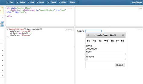 Javascript Date Format Jsfiddle   jquery datepicker jsfiddle phpsourcecode net