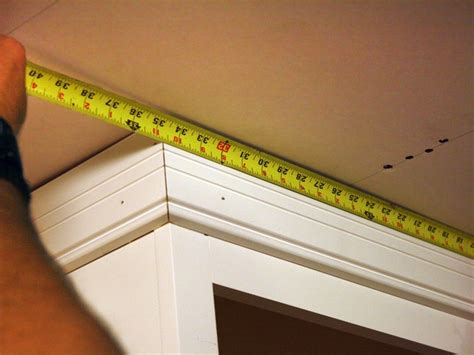 kitchen cabinet trim installation how to install kitchen cabinet crown molding