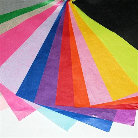 Of Tissue Paper - coloured tissue paper sheets kite packaging