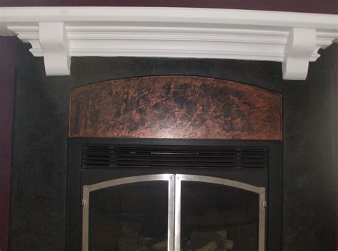 Custom Fireplace Surround by Venetian Plaster