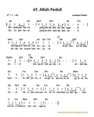 lirik lagu rohani kristen allah peduli berbagikisah23