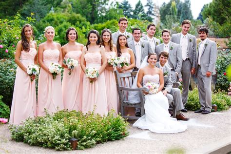 grey and pale pink wedding day time wedding questions about formality the knot