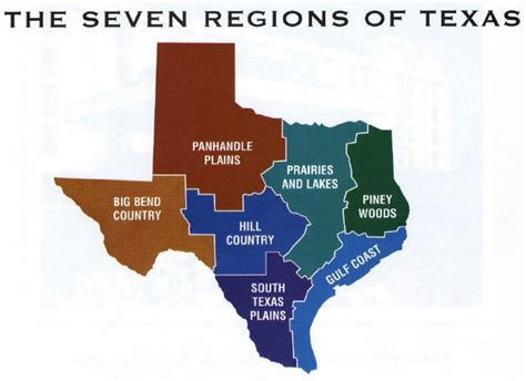 geography of texas map texas geography map