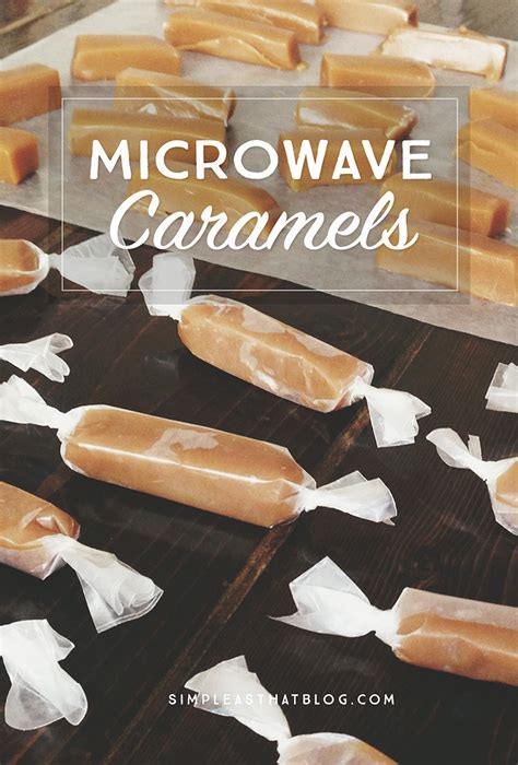 10 Ingredients And Directions Of Chocolate Caramels Receipt by Microwave Caramels