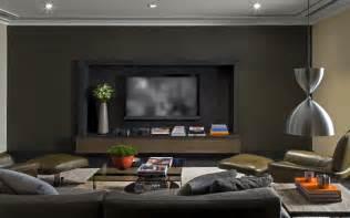 Living Room Decor With No Tv Modern Family Room Interior By Kiko Salomao Home Design