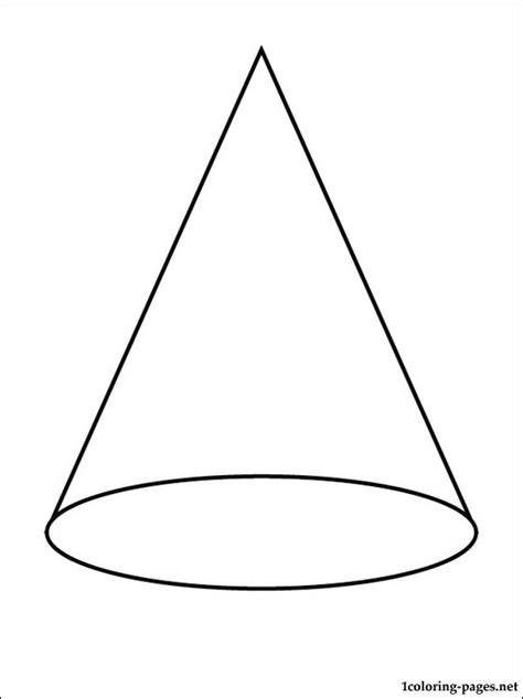 Coloring Pages Of Cones cone coloring page coloring pages