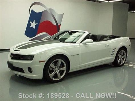 chevy camaro ss2 buy used 2011 chevy camaro ss2 rs convertible leather hud