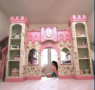 luxury european american style princess castle bed  ladderslides book cabinet  play