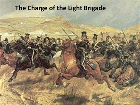 charge of the light brigade charge of the light brigade tennyson driverlayer search
