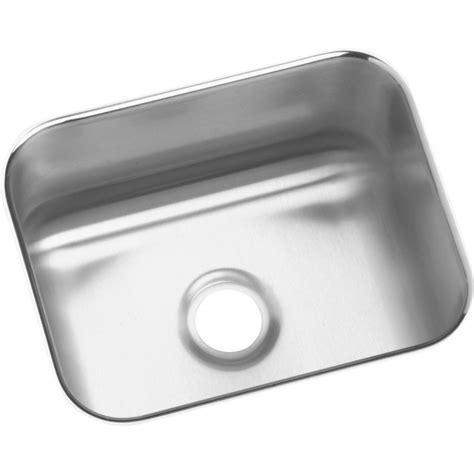 elkay stainless steel undermount sinks elkay eluh129 gourmet lustertone stainless steel single