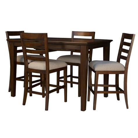 extendable dining sets a america westlake 5 piece extendable counter height