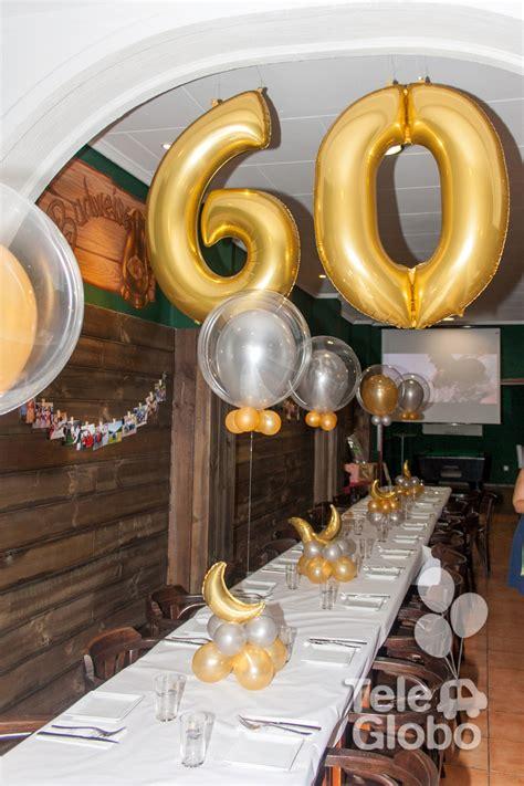 decoracion fiesta adultos decoraci 243 n con globos para 60 cumplea 241 os decoraciones