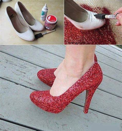 diy sparkly shoes diy glitter shoes pictures photos and images for