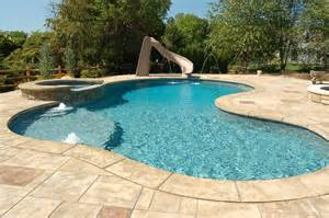 rustic stamped concrete patios pool decks and hardscapes rustic pool atlanta by l m