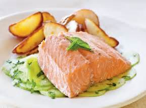 poached salmon perfect poached fish cooking light