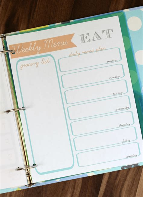 printable planner pages for 3 ring binder printable planner pages to print and use in a 3 ring binder