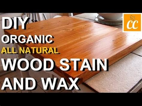 make all from wood diy make your own all natural wood finish stain wax