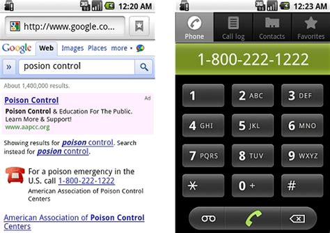 Call Lookup Phone Number Click To Call Numbers Added To Emergency Search Results Android Central