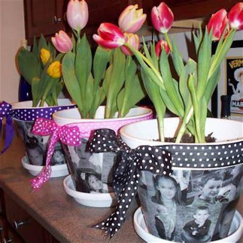 diy mod podge flower pot mod podge photo flower pots tip junkie