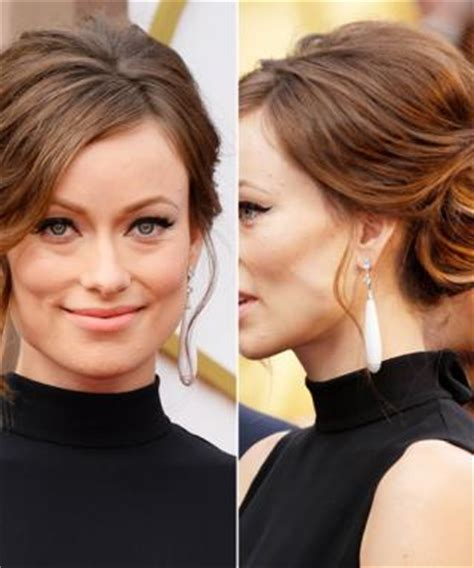 updos for every face shape from low chignons to loose