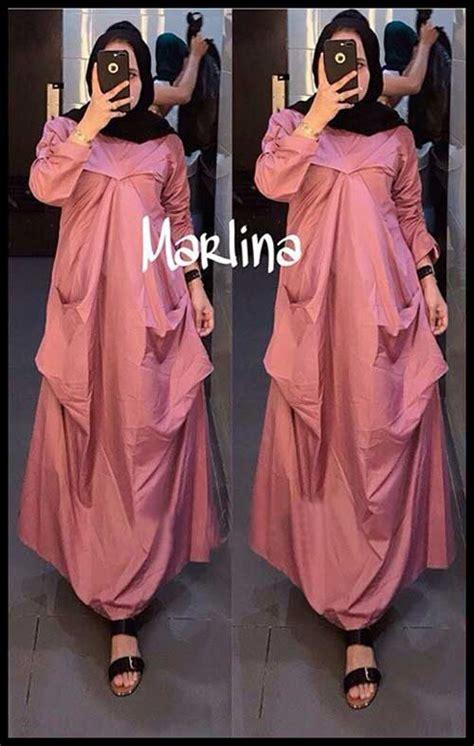 Salsabila Blouse Dusty Pink Tunik Atasan Wanita Baju Murah baju tunik modern bahan toyobo wa 0821 1223 5665