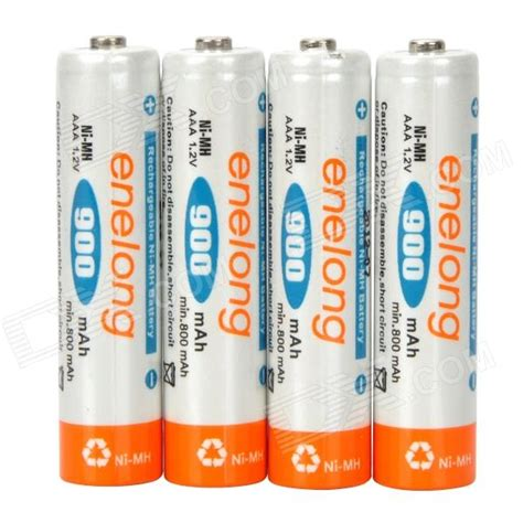 Battery Rechargeable Aaa Ni Mh Batteries 900mah Enelong enelong rechargeable 900mah ni mh aaa batteries 4pcs
