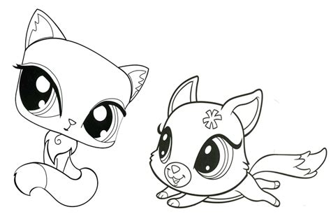 My Littlest Pet Shop Coloring Pages my pet shop coloring pages az coloring pages