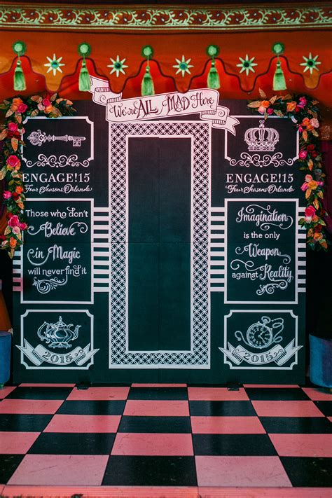 Wedding Backdrop Chalkboard by In Disney World Inspired Wedding Ideas