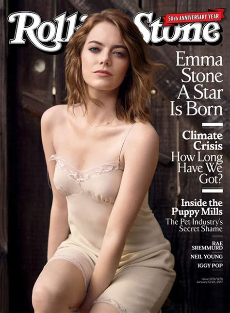 Emma Stone Opens Up About Crippling Anxiety As She Poses