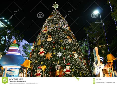 christmas tree thailand stock photo image 17217350