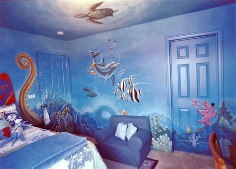sea themed bedroom underwater themed room kids www pixshark com images
