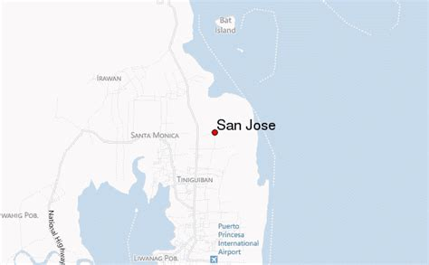 san jose palawan map san jose philippines mimaropa location guide