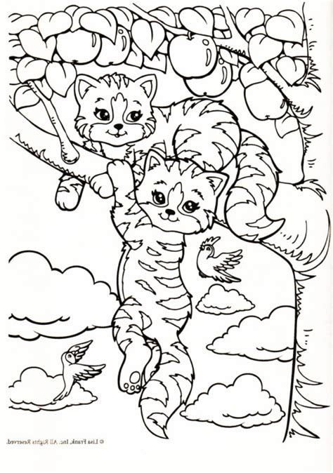 lisa frank kittens coloring pages image search results