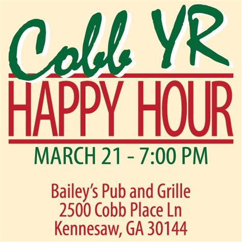 Happy Hour Baileys by Politics Caigns And Elections Cobb