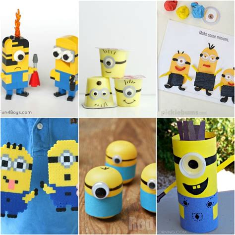 minion crafts for minion crafts activities for