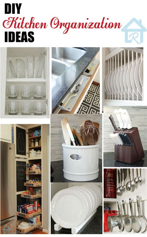 diy kitchen organization ideas remodelando la casa