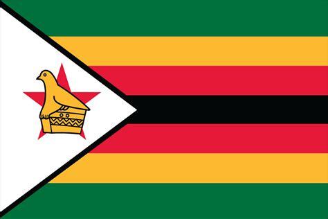 zimbabwe flag liberty flag banner