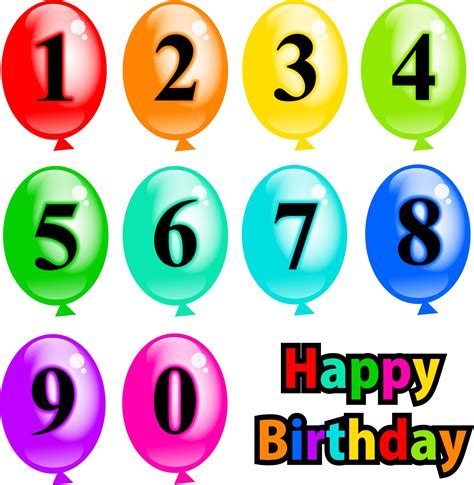 clipart compleanni geburtstag ballons clipart kostenloses stock bild