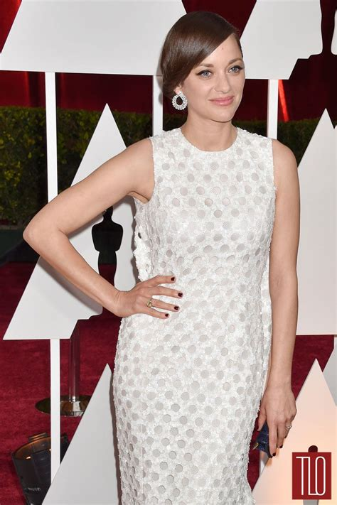 Oscars Carpet Marion Cotillard by Marion Cotillard In Couture At The Oscars Tom Lorenzo