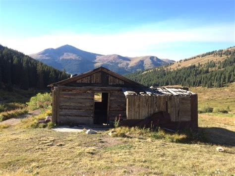 Leadville Colorado Cabins by Mining Cabins Picture Of Mayflower Gulch Leadville