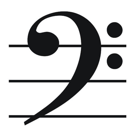 music base bass clef symbol meaning