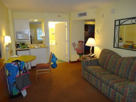 nick room living room and kitchenette picture of nickelodeon suites resort orlando tripadvisor