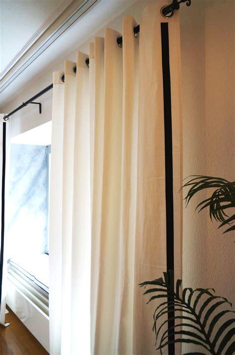 upgrade white curtains upgrade white curtains ikea merete curtains get an upgrade