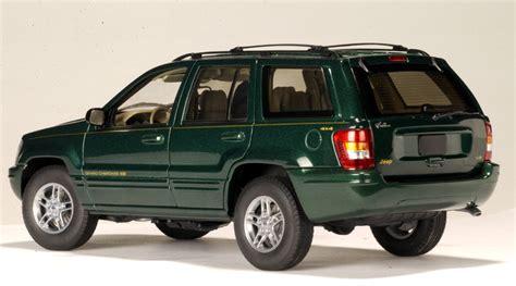 dark green jeep cherokee autoart 1999 jeep grand cherokee dark green 74014 in