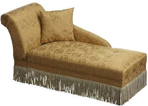 gold chaise lounge tasseled gold chaise lounge half a home 139 a good mix