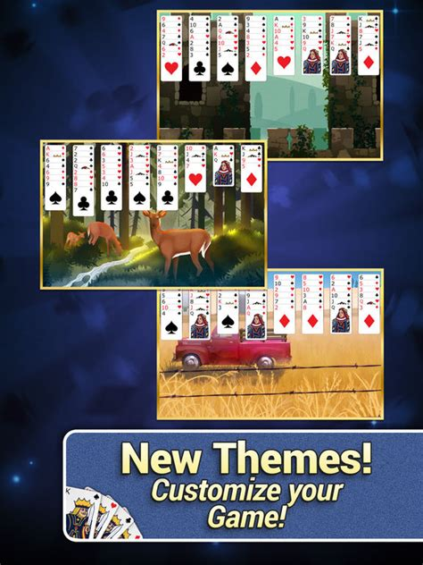 themes in games app shopper freecell solitaire with themes games