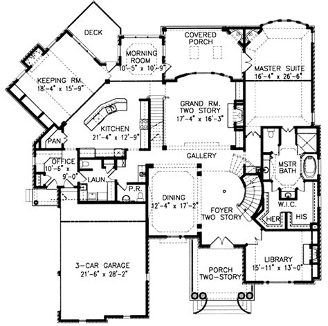 architecture photography entrance floor plan 132460 grand entrance with stately columns 15863ge 1st floor