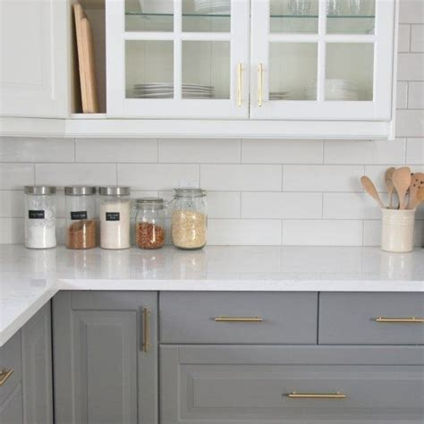 ikea subway tile 25 best ideas about two tone kitchen on pinterest two